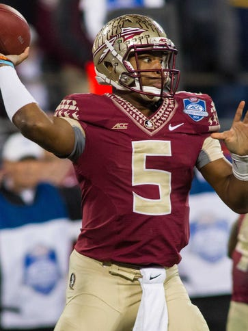 QB Jameis Winston won the Heisman Trophy for Florida
