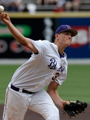 Lipscomb pitcher and former Riverdale standout Brady