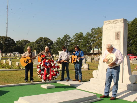 A tribute to Hank Williams will be held at the Oakwood Annex on Saturday morning. Alvin Benn/Special to the Advertiser