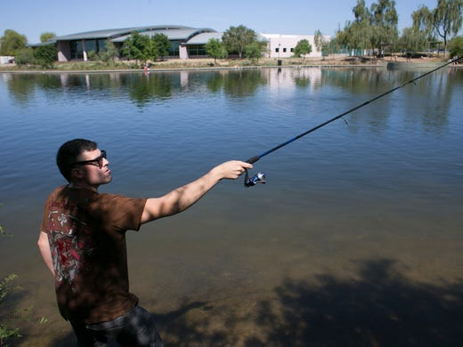 Excessive heat watch posted in advance of possible record for Sc fishing license age