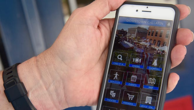 Downtown Gallatin now has a free mobile app that gives residents and visitors a new way to explore what the historic area has to offer.