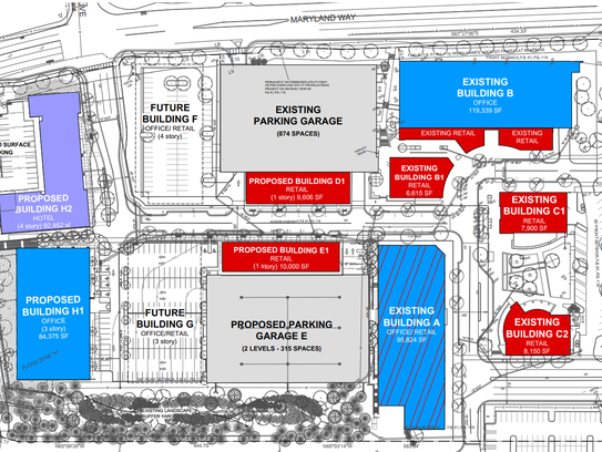 A rendering of the proposed phase two of development