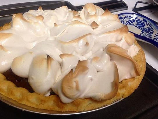 Salinas Californian Editor Chelcey Adami shares her grandmother's chocolate pie with meringue topping recipe.