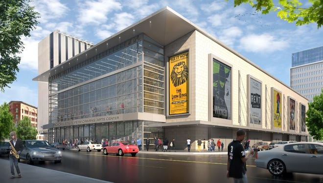 The Rochester Broadway Theatre League teamed up with LaBella and LeChase Construction to propose a venue at Midtown.