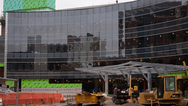 Sparrow's $64 million cancer center is under construction at its main campus on Michigan Avenue. It is expected to open in summer 2017.
