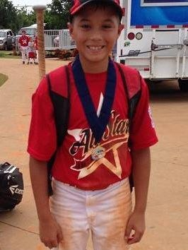 Zachary Reyna, 12, was active in sports before contracting the parasite.