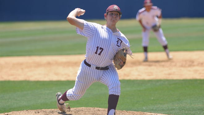 De Leon's Bryce Whiteley earned a first-team all-state nod at designated hitter.