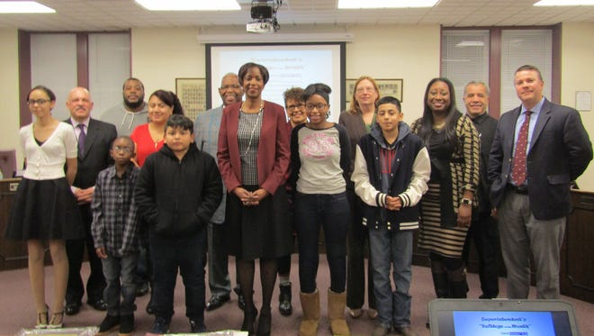 The Bulldogs of the Month for December were honored at the Bridgeton Public Schools' Board of Education meeting in January.