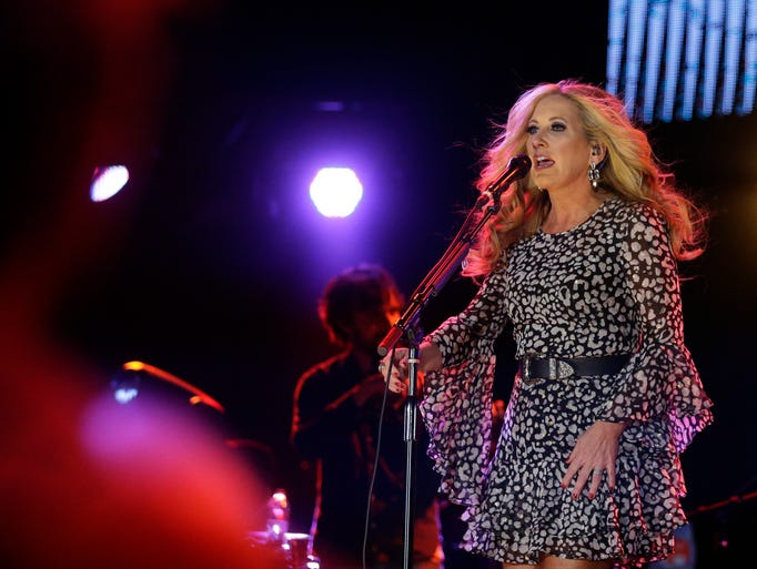 Country singer-songwriter Lee Ann Womack performs before