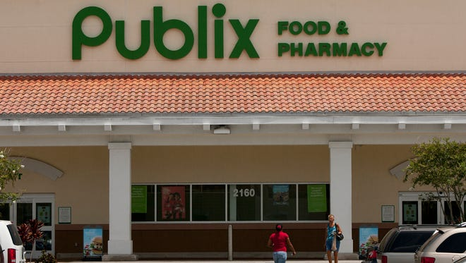 Publix Super Markets has tied Wegmans as America's favorite grocery store chain, according to a 2017 customer survey by Market Force Information.