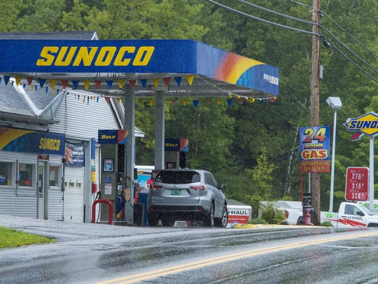 A.J.'s Sunoco on U.S. 302 in Barre on Tuesday, August
