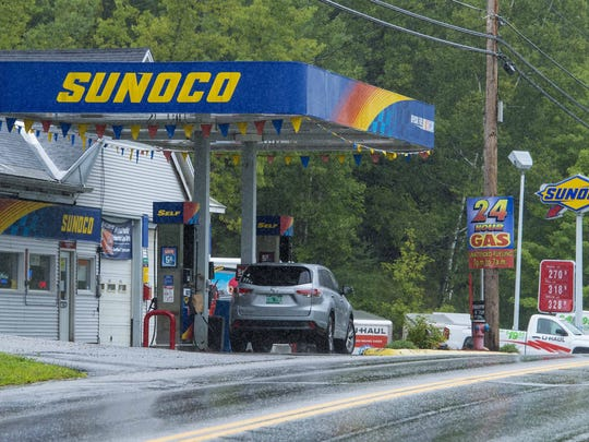 A.J.'s Sunoco on U.S. 302 in Barre on Tuesday, August 11, 2015.
