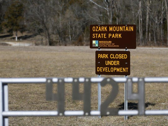 Ozark Mountain State Park is located just north of Branson, but remains closed while state park officials decide what to do with it.