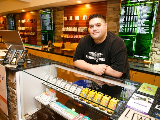 "Jered DeCamp, co-owner of Salem marijuana retailer Herbal Remedies, on Thursday, Jan. 4, 2018. DeCamp says an employee who failed to verify a minor's age at Herbal Remedies has been fired. ""It's a disgrace to my company,"" DeCamp said. ""We strive to uphold a better standard."""