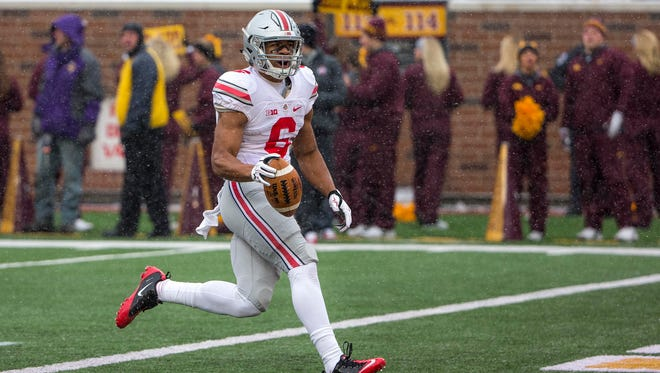 """""""It'd be great,"""" Ohio State wide receiver Evan Spencer says of Jim Harbaugh potentially taking over at Michigan."""