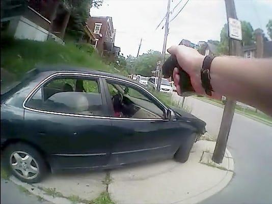 July 19, 2015. Sumuel DuBose, Ray Tensing, UC cop, shooting