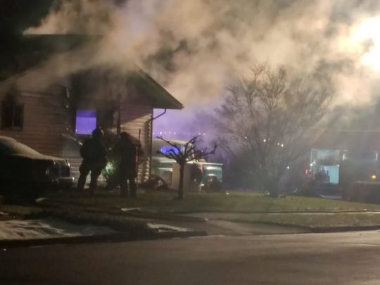 A second alarm was necessary to fight a fire that started