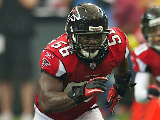 NFL Jerseys Nike - Falcons lose Sean Weatherspoon, Steven Jackson for foreseeable future