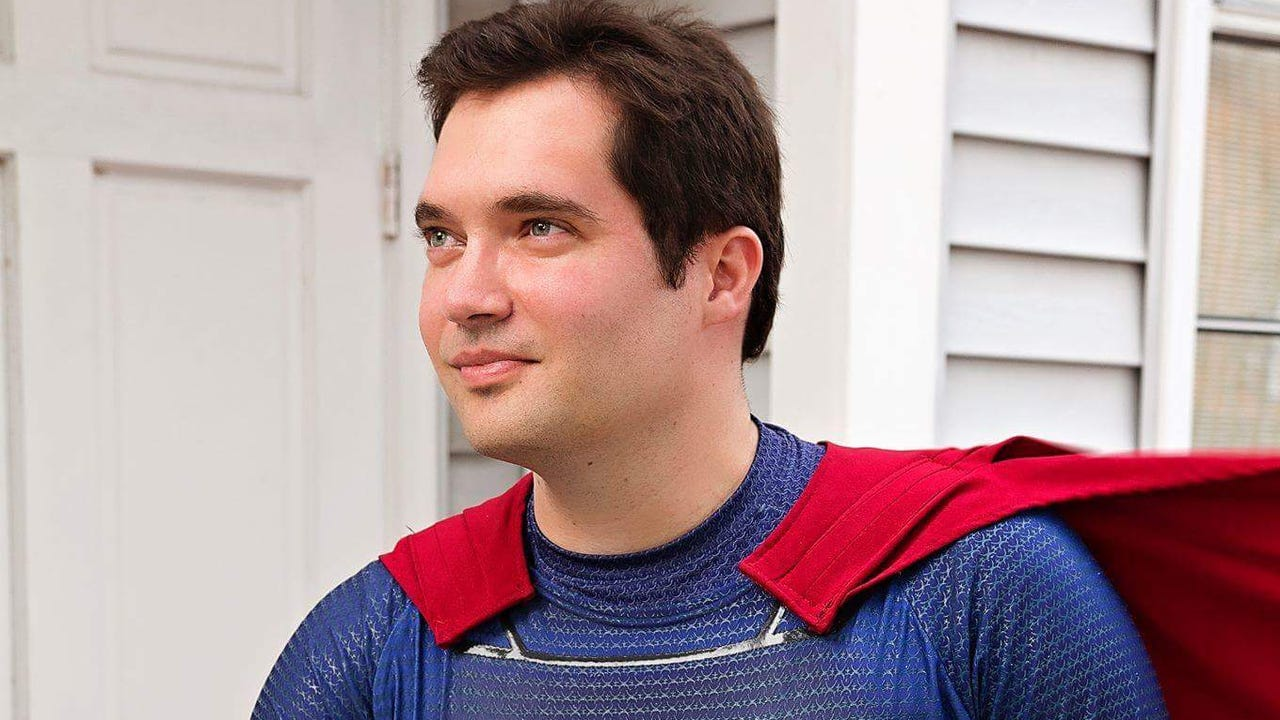 Funny video of Space Coast Superman walking, running and flying the Superhero 5K in Viera. Video posted Feb. 4, 2017, by Kyle Coppa-Cross, FLORIDA TODAY