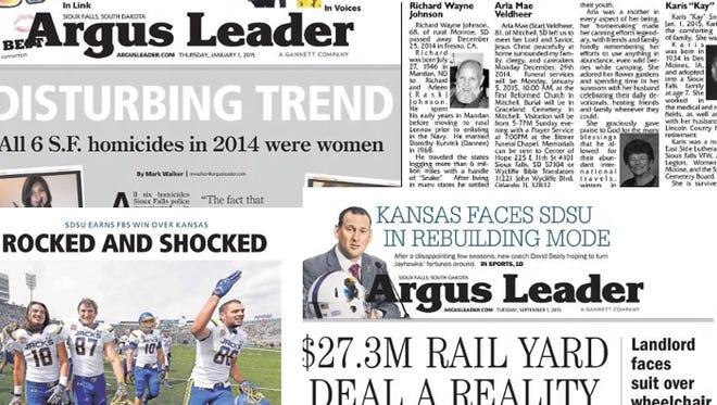 Argus Leader subscribers have access to two years of archives for free
