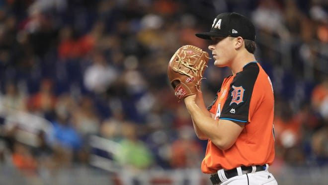 Beau Burrows tossed a 1-2-3 inning in the Futures Game.