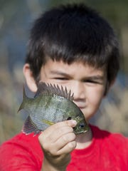 Take your little one fishing this weekend.