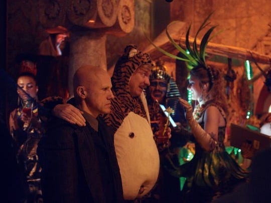"""Christoph Waltz in a scene from """"The Zero Theorem."""""""
