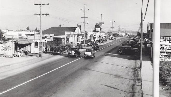 Alisal Street in 1935.