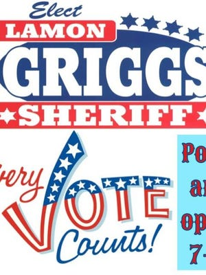 Lamon Griggs said he ran for sheriff as an independent, which led to his firing.