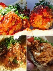 Mama's MeatBalls offer a variety of flavors for sandwiches and flatbreads.
