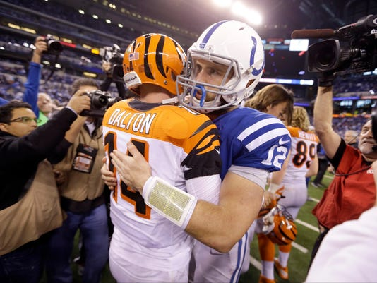 Andrew Luck, Andy Dalton