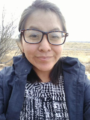"Shaneyka Yazzie, a San Juan College student from Shiprock, won Healthy Futures' ""Green Dreams"" essay contest."