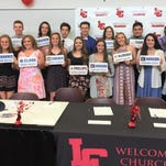 Churchill athletes taking their talents to the next level