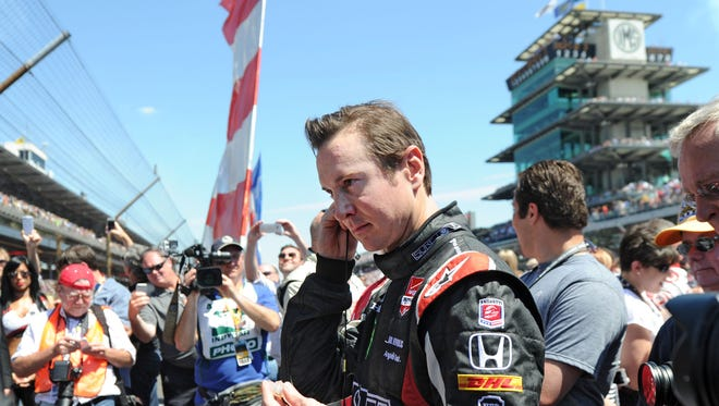 Kurt Busch finished sixth, after starting 12th, in Sunday's Indianapolis 500.