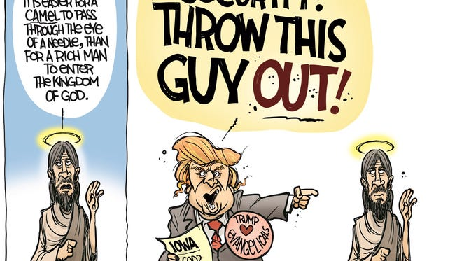 John Cole, The Scranton Times-Tribune, drew this Desert Sun editorial cartoon for Jan. 26, 2016.