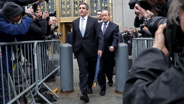 OnPolitics Today: Trump's lawyer, Michael Cohen, will plead the Fifth in  Stormy Daniels