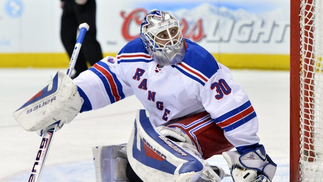 The Rangers have the clear edge over the Flyers in goaltending, with Henrik Lundqvist  better than anyone the Flyers can put between the pipes.
