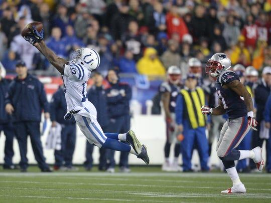 Hilton's catch.