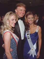 Donald Trump, in Branson for the Miss USA pageant in