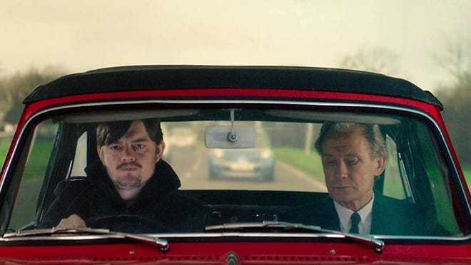 """Bill Nighy, right, and Sam Riley star in """"Sometimes Always Never."""""""