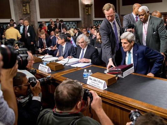 John Kerry, Ernest Moniz, Jack Lew