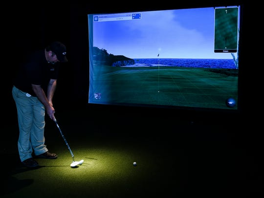 The virtual golf course and bar called Virtual Links closed in late 2017.