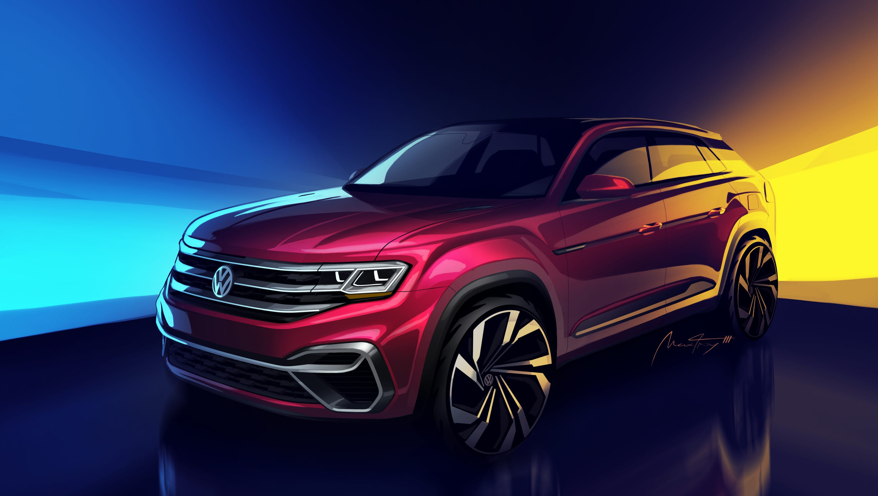 Volkswagen to make new SUV based on Atlas at Chattanooga Tennessee
