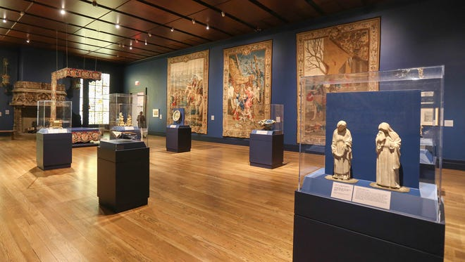 The tapestry gallery at the Speed Art Museum.March 8, 2016
