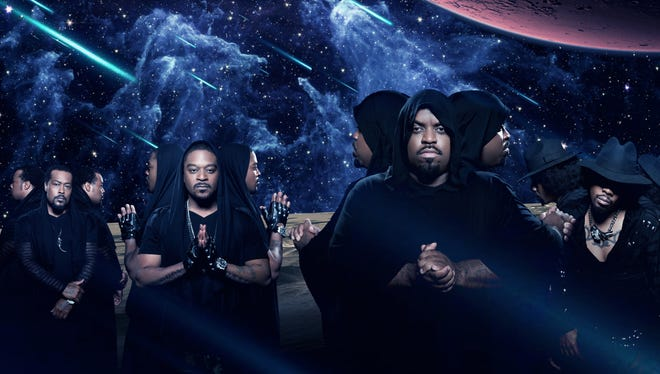 Khujo, left, T-Mo, CeeLo and Big Gipp of Goodie Mob return with 'Age Against the Machine,' the group's first album in 14 years.