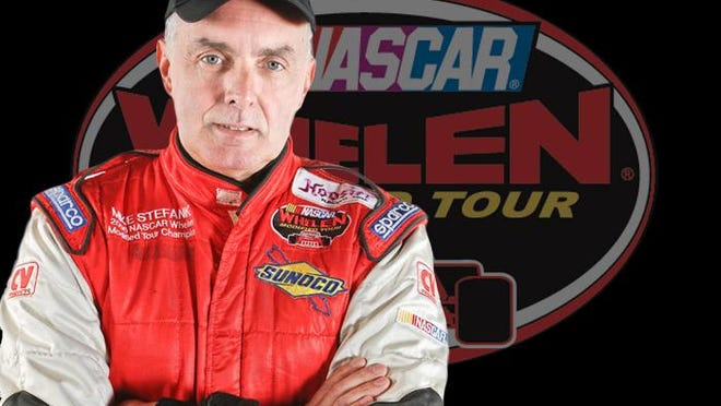 The late Mike Stefanik a 7-time NASCAR Modified Champion will be inducted into the NASCAR 2021 Hall of Fame(Credit: NASCAR Home Tracks photo )