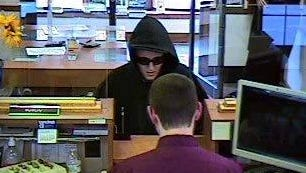 Stowe police say a person robbed the Union Bank on Tuesday afternoon.