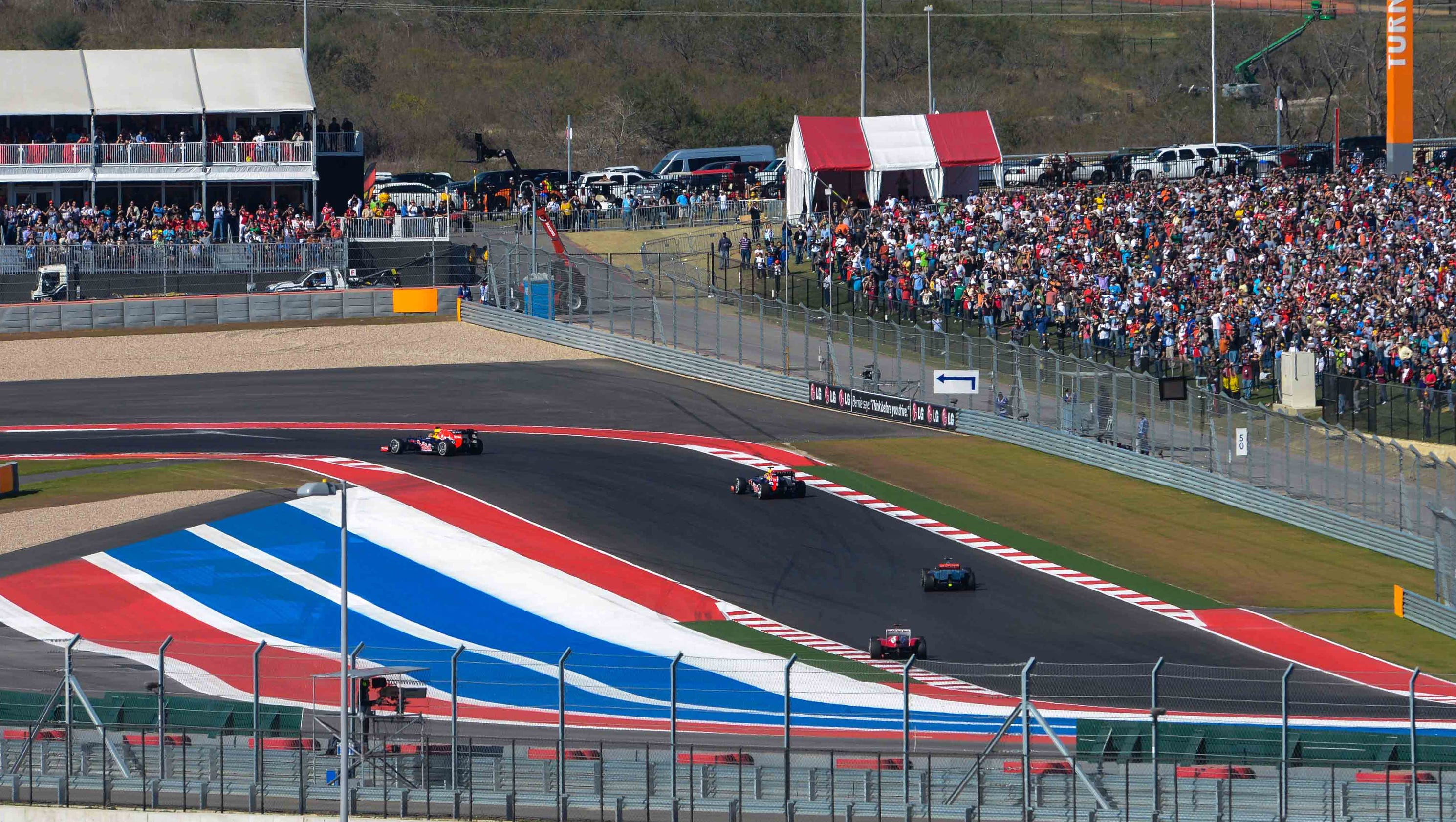 Formula One delivers speed, parties and dollars to Austin