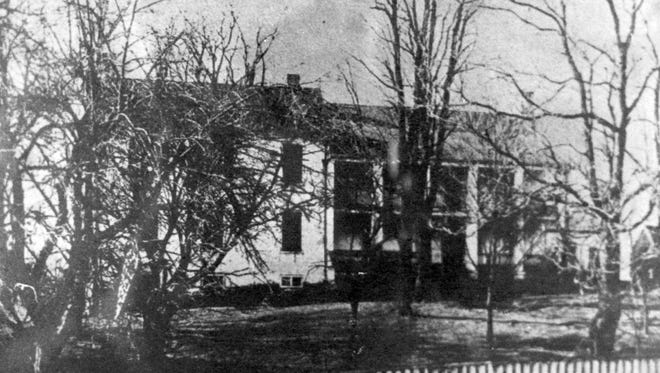 The main house at Spring Farm was reportedly built by Hessian prisoners during the Revolutionary War and was the home of early settler Peter Hanger. The city acquired the farm for water rights in the 1870s and the house was subsequently demolished.