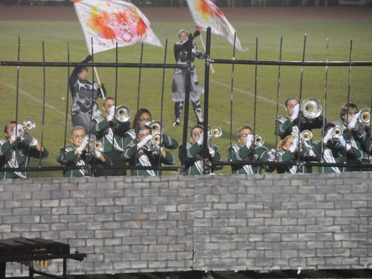 Parkside performs during the Delmarvacade of Bands.
